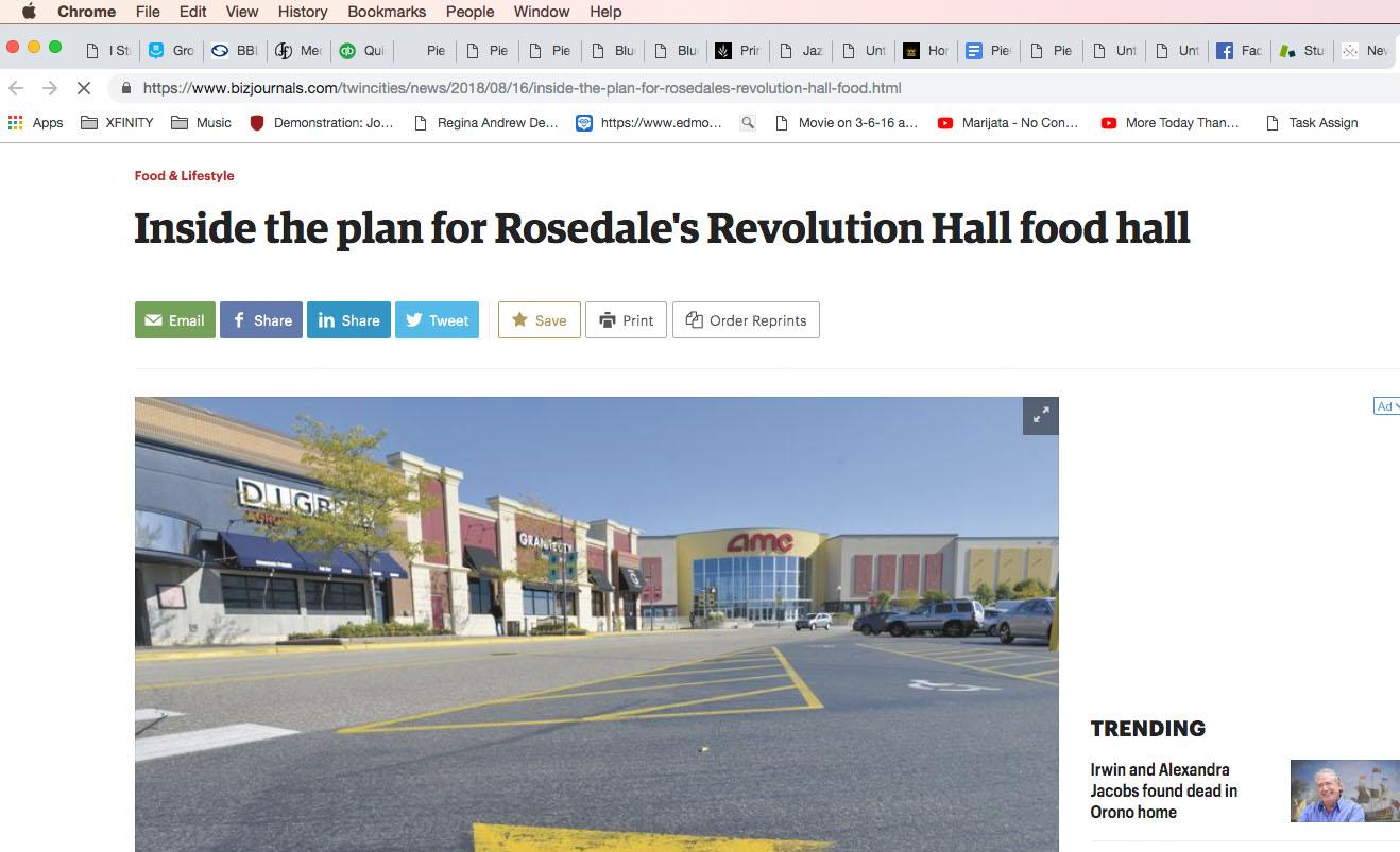 Inside the plan for Rosedale's Revolution Hall food hall